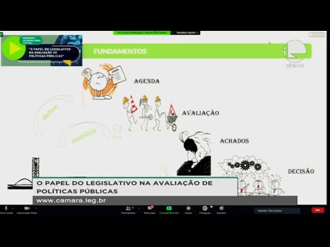 Seminário virtual - O papel do Legislativo na avaliação de políticas públicas – 03/12/2020