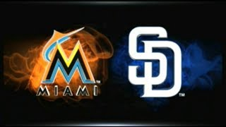 MLB 15 THE SHOW_MARLINS AT PADRES (2018) GM # 42