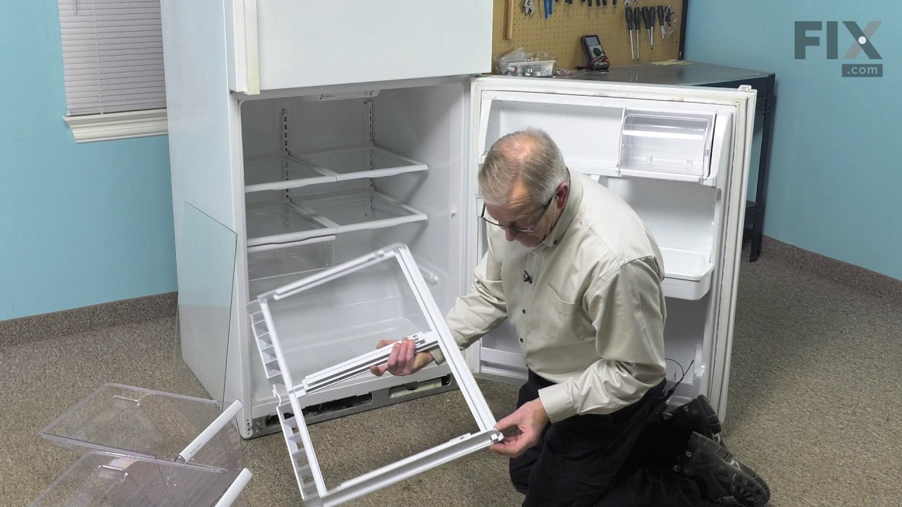 Replacing your Whirlpool Refrigerator Crisper Cover Frame