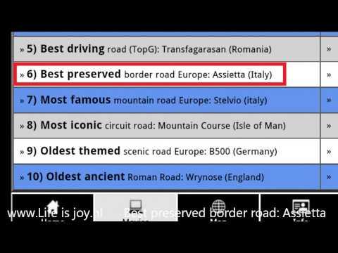 Video of Best motorcycle roads Europe