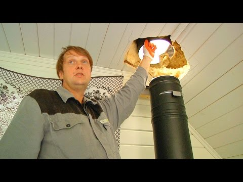 Установка печи и дымохода в дачный домик: продлеваем дачный сезон // FORUMHOUSE