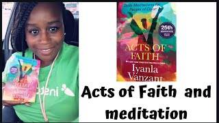 Daily meditation from the Acts of faith /Iyanla Vanzant September 4th