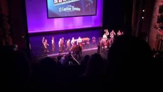 Newsies Touring Broadway Cast - King of New York & Santa Fe live at El Capitan Theatre April 1, 2015