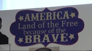 Photos Remember Veterans at St. Bernards Village.
