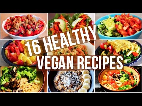 Video My 16 Favourite Healthy Vegan Recipes