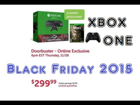 2015 Black Friday Xbox One $299 GoW Bundle plus extras from DELL