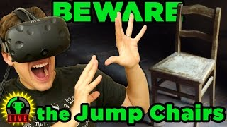 GTLive: Caution JUMP CHAIRS Ahead! - Chair in a Room: Greenwater by The Game Theorists