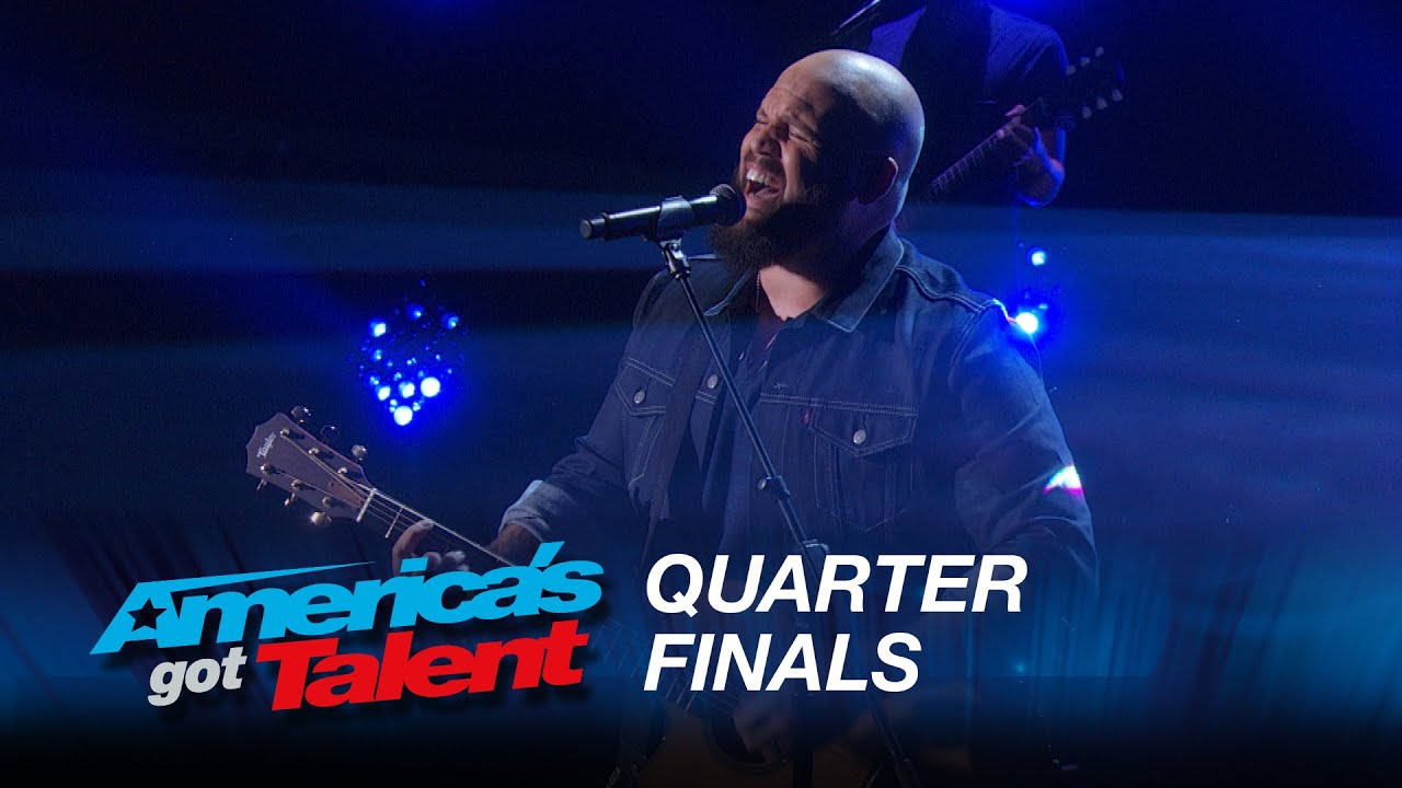 Benton Blount: Singer Surprises with «Say Something» Cover – America's Got Talent 2015 #AGT