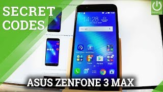 Codes in ASUS ZenFone 3 Max - Hidden Menu / Advanced Settings