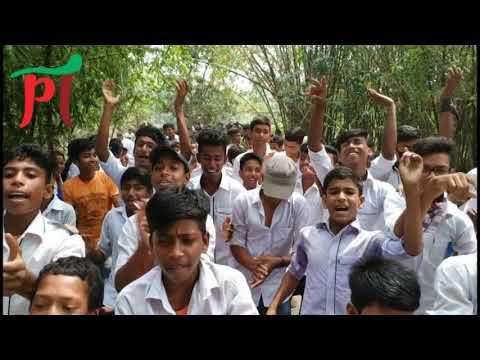 রাজশাহীর মোহনপুরে দুইটি বিদ্যালয়ের দুই শিক্ষকের বরখাস্ত ও শাস্তির দাবিতে পৃথকভাবে মানববন্ধন করেছে শিক্ষার্থীরা