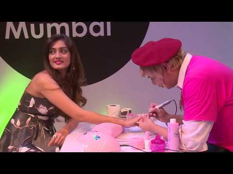 Nail Art is here! Global Artist Max from Enail Couture gave fist ever performance in India at PB.