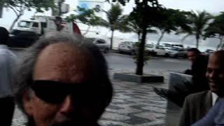 Нина Добрев и Йен Сомерхолдер, Йен в Бразилии, открытие гостиницы (31.05.2012)