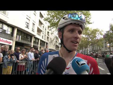 Arnaud Démare - interview d'arrivée - Paris-Tours 2019