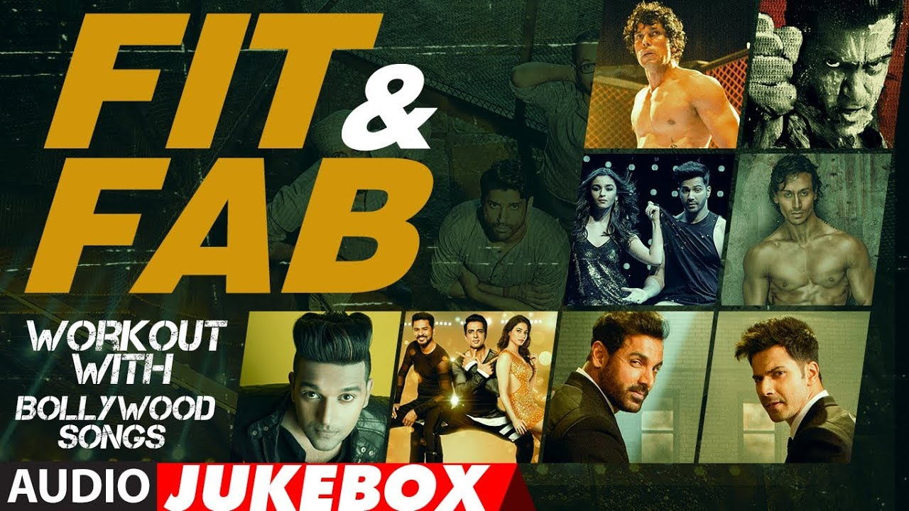 "Fit & Fab - Workout With Bollywood Songs | Audio Jukebox | Gym Songs 2017 | ""Workout Hindi Songs  downoad full Hd Video"