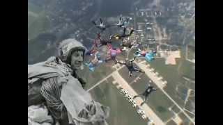 Парашютисты 80-х... парашютный спорт