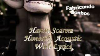 Harem Scarem - Honestly (Acoustic) with Lyrics