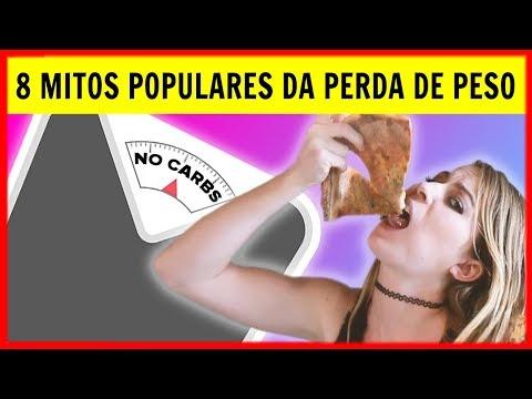 Perder Peso - 8 Mitos Populares da Perda de Peso