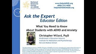 What You Need to Know about Students with ADHD and Anxiety 17 0