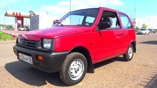 2005 ВАЗ 11113 Ока. Обзор (интерьер, экстерьер, двигатель).