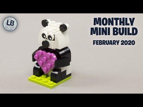 Vidéo LEGO Objets divers 40396 : La Saint-Valentin