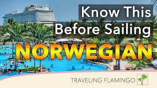 What You Need to Know BEFORE Sailing with Norwegian Cruise Line in 2019 | 4K