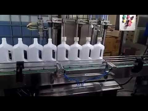 Dish Wash Liquid Filling Machine