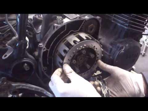 Como cambiar el embrague de una Yamaha XJ 600 .