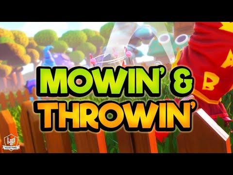 Mowin' & Throwin' Nintendo Switch Trailer REVEAL! thumbnail