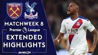 West Ham United v. Crystal Palace   PREMIER LEAGUE HIGHLIGHTS   10/5/19   NBC Sports