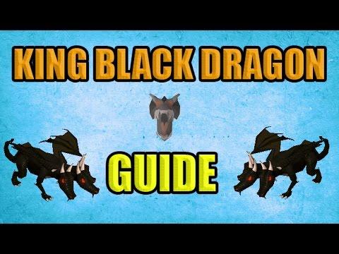 Oldschool Runescape - King Black Dragon Solo Guide | 2007 KBD Guide