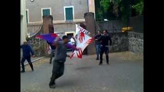 preview picture of video 'Sbandieratori Vignanello 21 Maggio 2012'