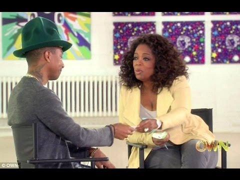 Happy Videos brings Pharrell Williams to tears! Interview on Oprah Prime