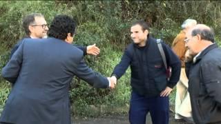 preview picture of video 'Construyen un albergue y una zona de autocaravaning en Sueras'