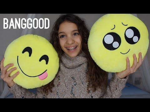 CUSCINI A EMOJI😍 | Banggood || Iris Ferrari