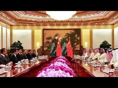 العرب اليوم - شاهد : السعودية والصين توقعان اتفاقيات بقيمة 28 مليار دولار