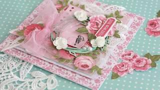 DIY Card Making Tutorial ~ Shabby Chic