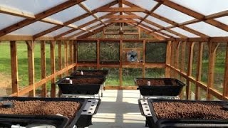 #Aquaponics Greenhouse Garden By Endless Food Systems