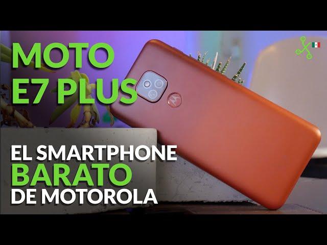 MOTO E7 PLUS, Probamos el smartphone BARATO de MOTOROLA