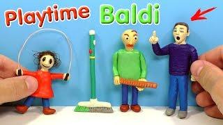 ЛЕПИМ ДЕВОЧКУ СО СКАКАЛКОЙ из игры Baldi