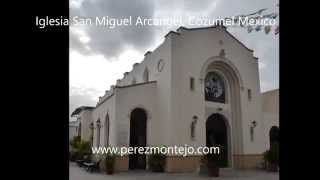 preview picture of video 'Iglesia San Miguel Arcangel, Cozumel'