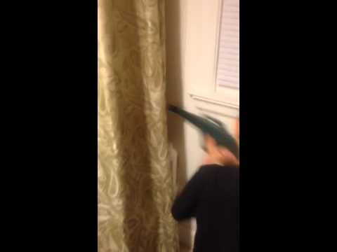 Scaring sister in the shower
