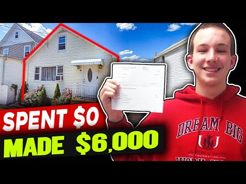 Real Estate Wholesaling for Beginners with NO MONEY [My 1st Deal Explained]