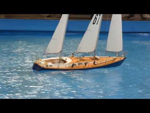 RC Segelboote auf der Intermodellbau 2018