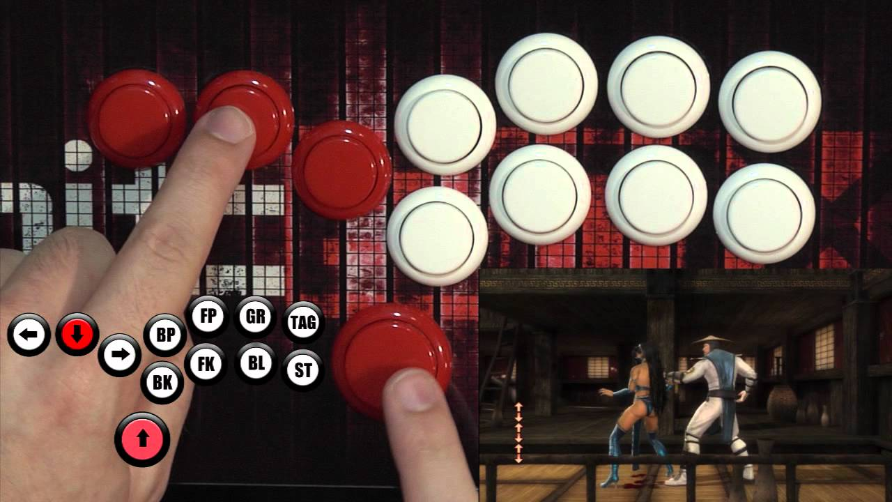 Fighting Games Look Easier When They're Nothing But Buttons