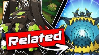 Guzzlord  - (Pokémon) - How Are Guzzlord and Zygarde Related? - Pokemon Ultra Sun And Ultra Moon Theory