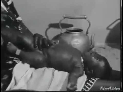 AFRICAN  BABIES MASSAGE