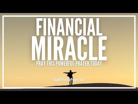 Prayer For Miracle Financial Breakthrough | Powerful Prayer Against Debt
