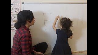 How to teach a child to write their name Easily!