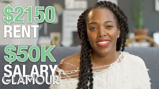 How a Copywriter Making $50K in Philly Spends Her Money | Glamour