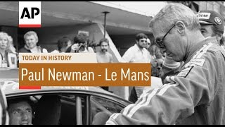 Paul Newman Races at 24 Hours of Le Mans - 1979 | Today in History | 10 June 16